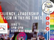 QueerEvents.ca - Guelph  pride event listing - Resiliency, Leadership, & Activism