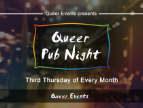 QueerEvents.ca - London Event Listing - Queer Pub Night presented by Queer Events