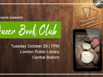 QueerEvents.ca- London Event Listing - October Queer Book Club