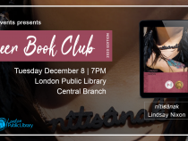 QueerEvents.ca - London event listing - QE Presents Queer Book Club: December 2020 Edition