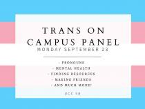 QueerEvents.ca - London event listing - Trans on Campus panel - QWeek