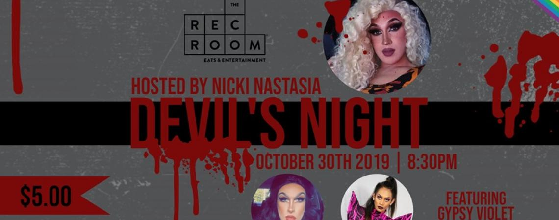 QueerEvents.ca - London event listing - Devil's Night Drag Show event