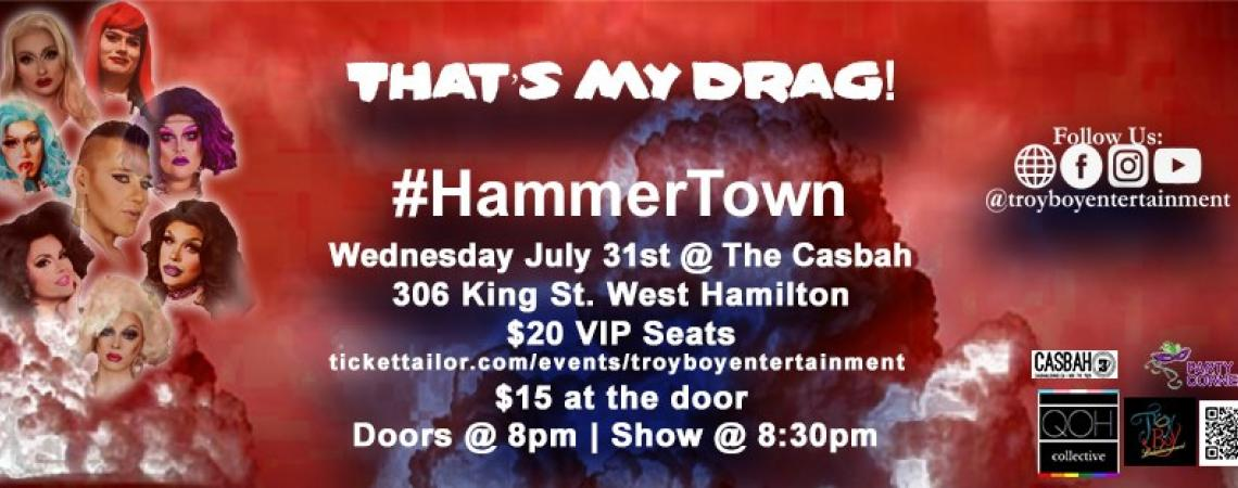 QueerEvents.ca - Hamilton event listing - That's my drag