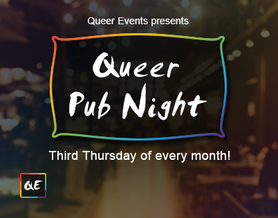 Queer Events - Presents Queer Pub Night