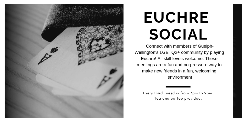 QueerEvents.ca - Guelph event listing - Euchre Social