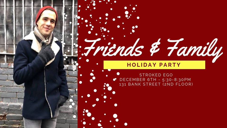 QueerEvents.ca - Ottawa event listing - Friends & Family Holiday Bash