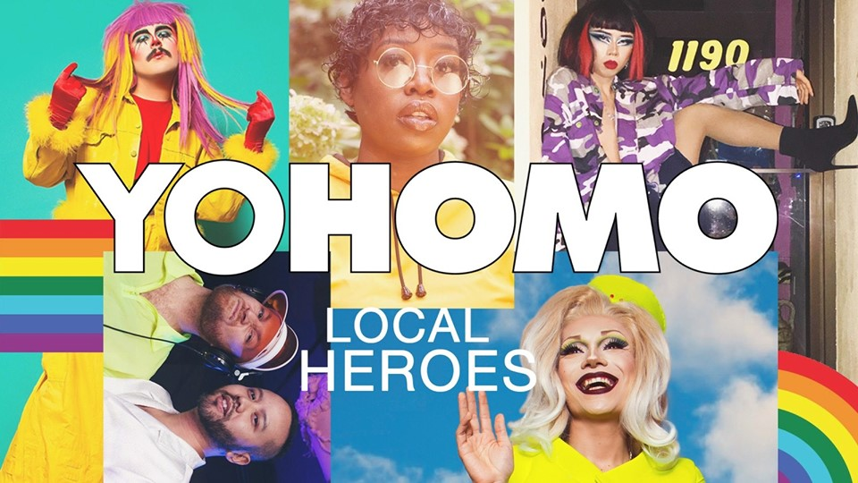 QueerEvents.ca - Toronto event listing - Local Heroes - Inside Out Festival closing party
