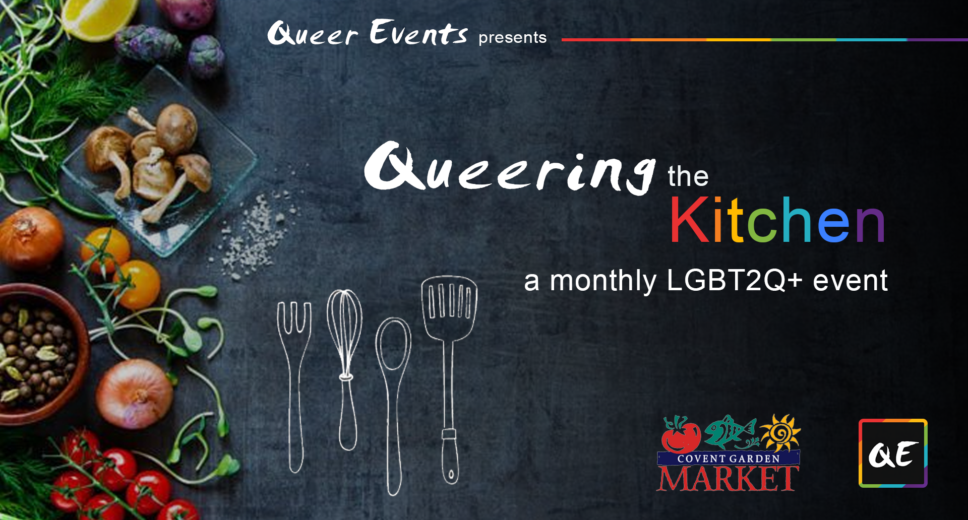 QueerEvents.ca - London event listing - Queering the Kitchen presented by QE