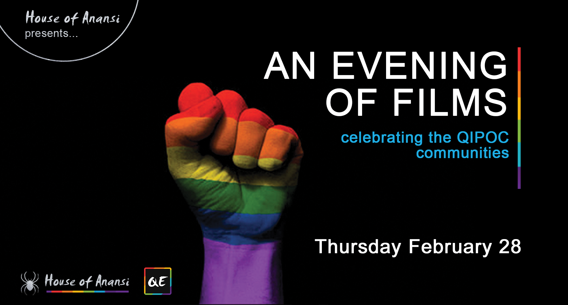 QueerEvents.ca- London Event Listing - Evening of QIPOC Films