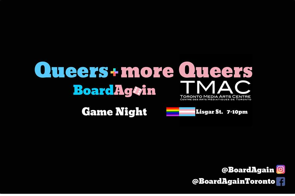 QueerEvents.ca - Toronto event listing - Queer Gaming banner