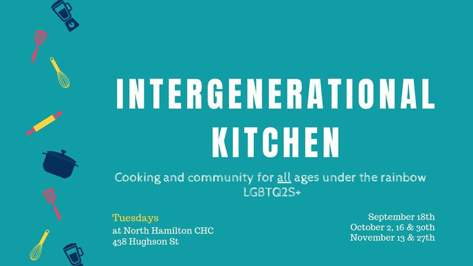 QueerEvents.ca Listing - Intergenerational Kitchen Event banner