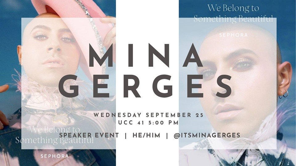 QueerEvents.ca - London event listing - Mina Gerges - QWeek