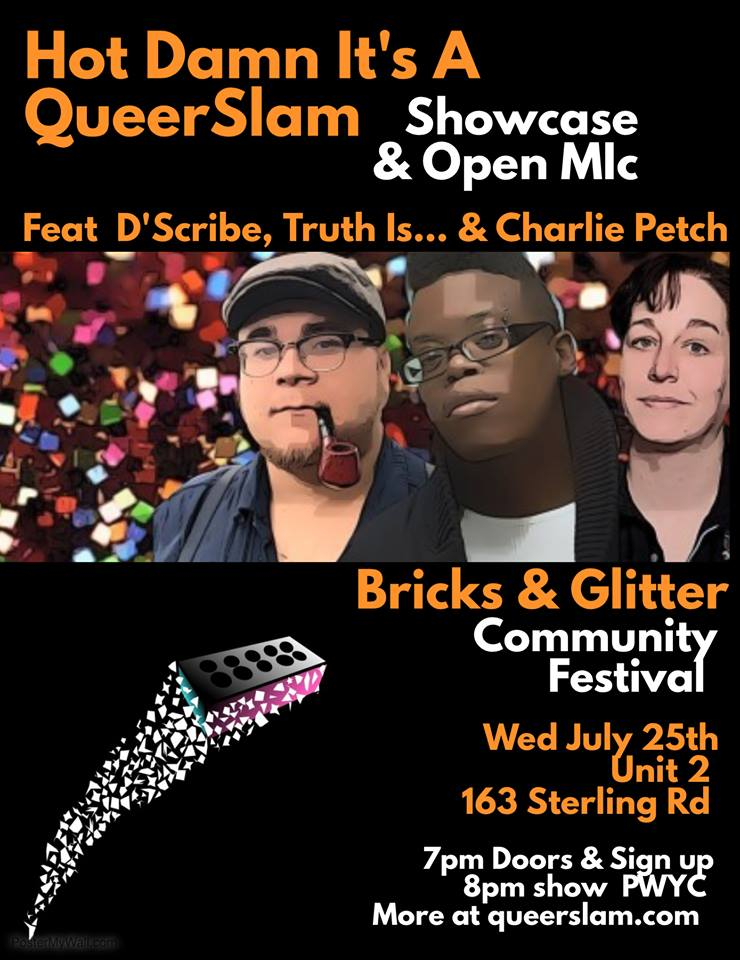 QueerEvents.ca - Event - Queer Slam - July Edition