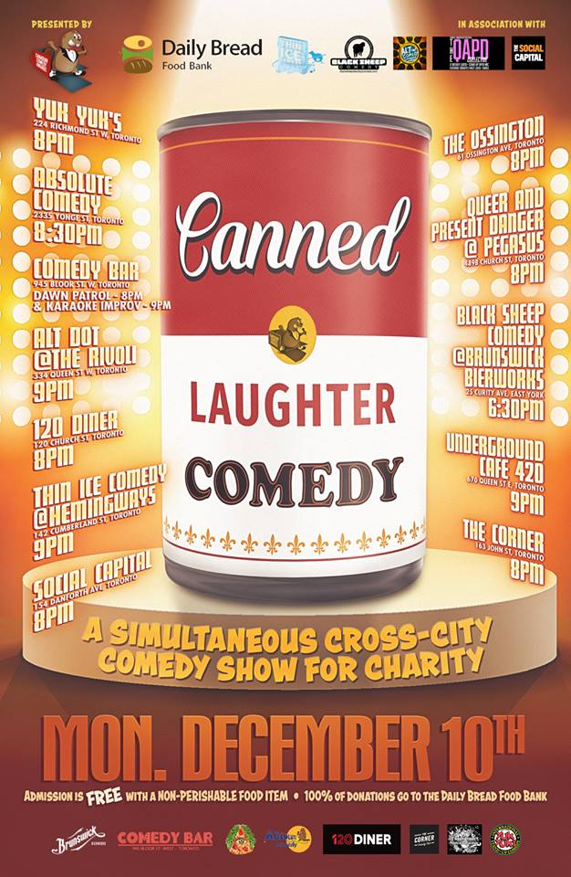 QueerEvents.ca - Toronto Event listing - QAPD Comedy Show