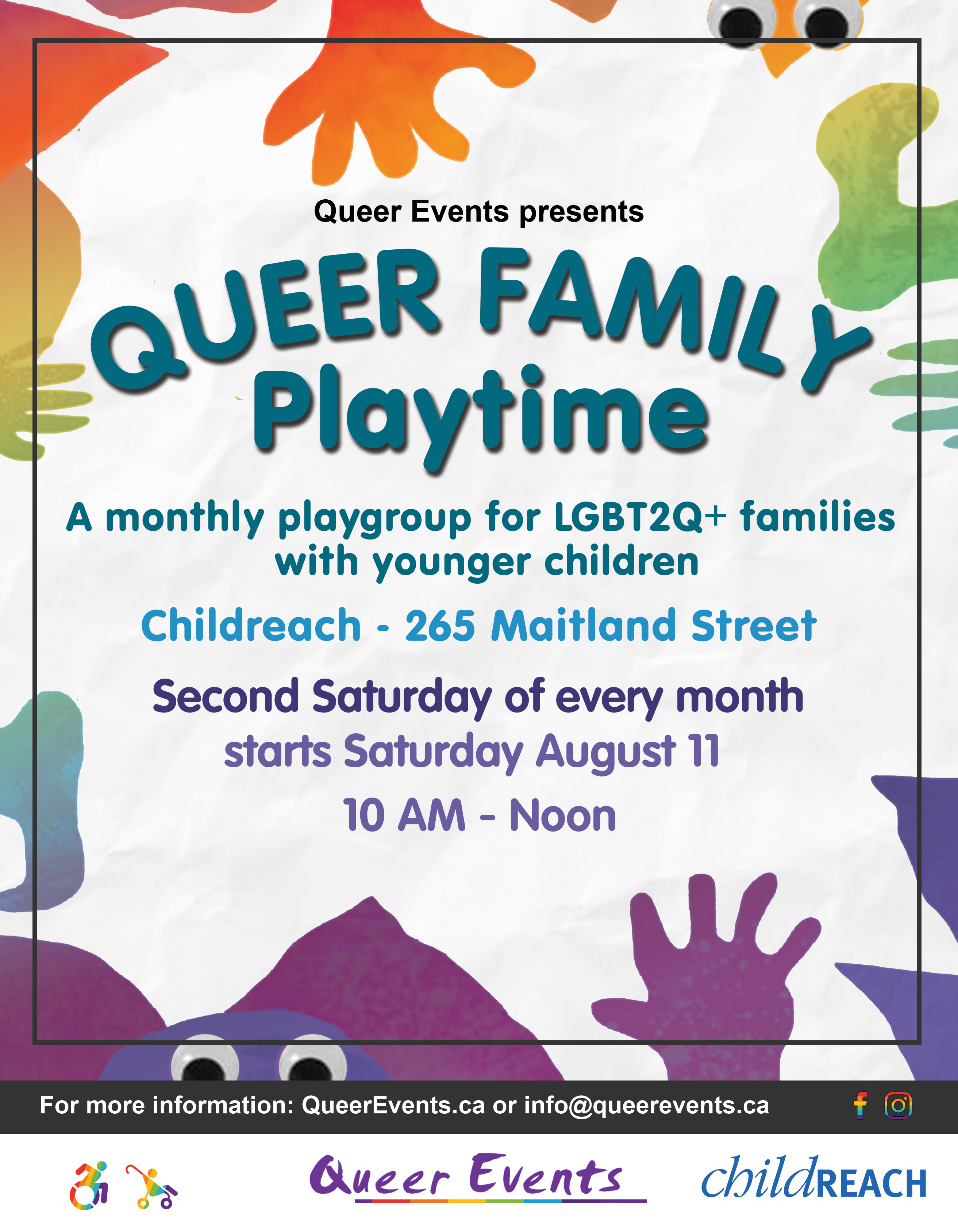 Queer Family Playtime Event