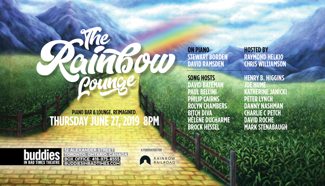 QueerEvents.ca - Toronto Event listing - Rainbow Lounge - Queer sing a long