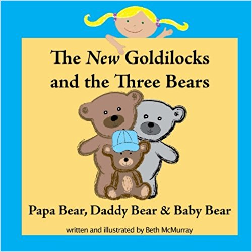 QueerEvents.ca -  Papa Bear, Daddy Bear, and Baby Bear - Book Cover