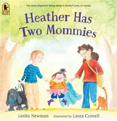 QueerEvents.ca - Heather Had Two Mommies - Book Cover