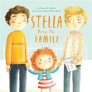 QueerEvents.ca - Stella Brings The Family - Book Cover