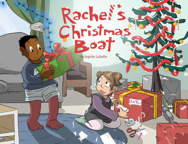 QueerEvents.ca - Rachels Christmas Boat - Book Cover