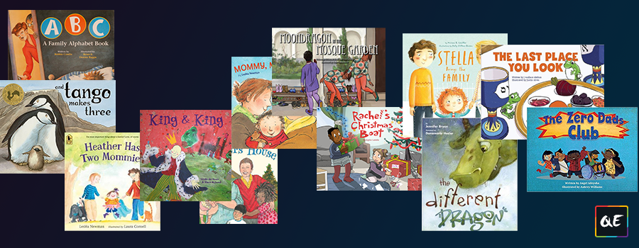 QueerEvents.ca - 14 Books Showing Queer Families - Post Banner