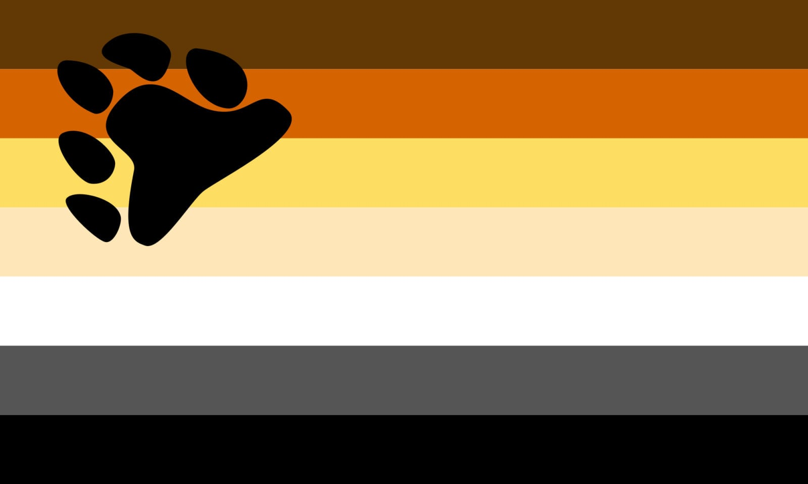QueerEvents.ca - Queer Flags - Bear Flag Image