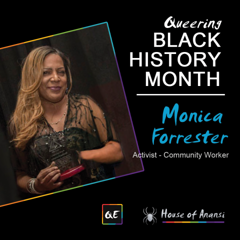 QueerEvents.ca - Notable QIPOC - Monica Forrester