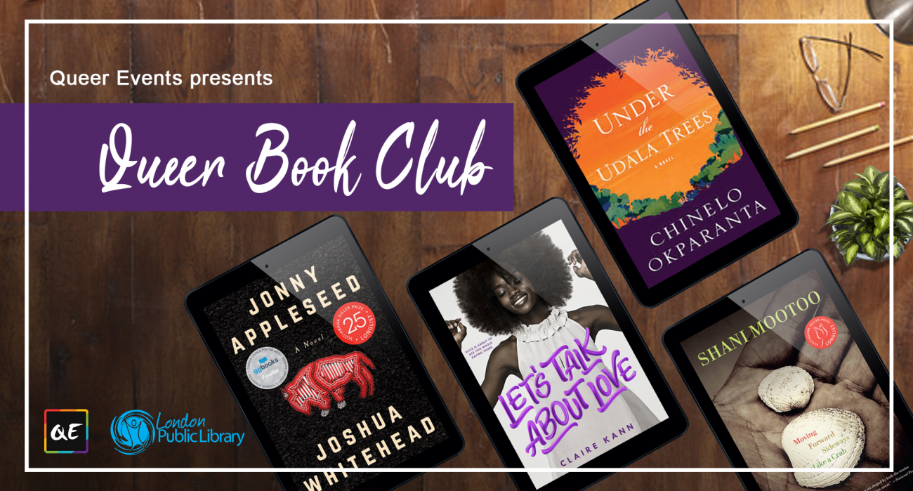 QueerEvents.ca - London event listing - Queer Book Club presented by Queer Events