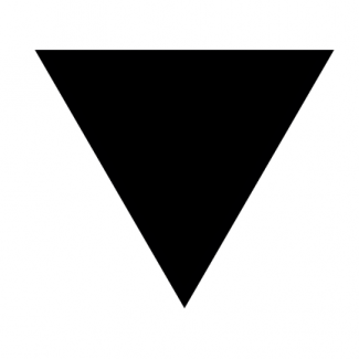 QueerEvents.ca - queer culture - lesbian community symbol black triangles