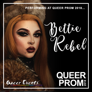 QueerEvents presents Queer Prom -  Bettie Rebel