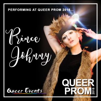 QueerEvents presents Queer Prom - Prince Johnny