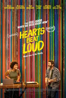 QueerEvents.ca - Film Listing - Hearts Beat Loud Poster