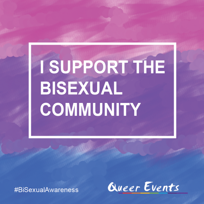 QueerEvents.ca - Bisexual Awareness Week