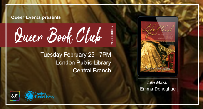 QueerEvents.ca - London event listing - QE Presents Queer Book Club: Feb 2020 Edition
