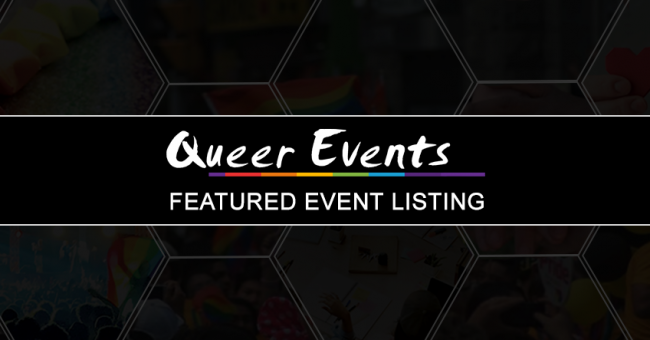 QueerEvents.ca - Featured Event Listing Banner