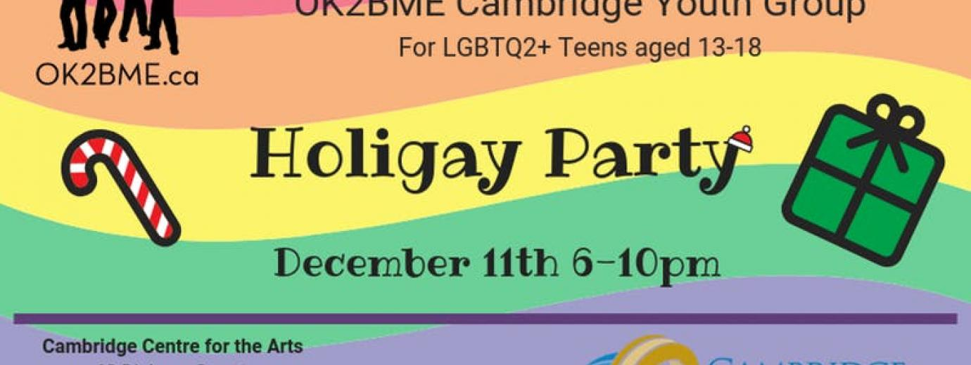 QueerEvents.ca - Cambridge Event Listing - Holigay Party