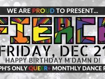 QueerEvents.ca - Guelph event listing - Fierce Friday