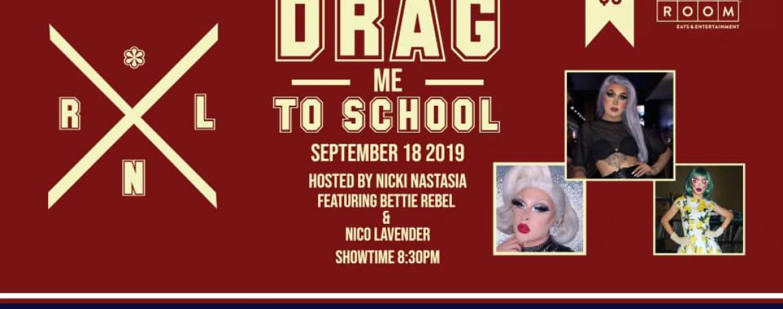 QueerEvents.ca - London event listing - Drag me to School